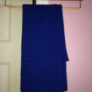 100% Cashmere Blue Infinity Scarf